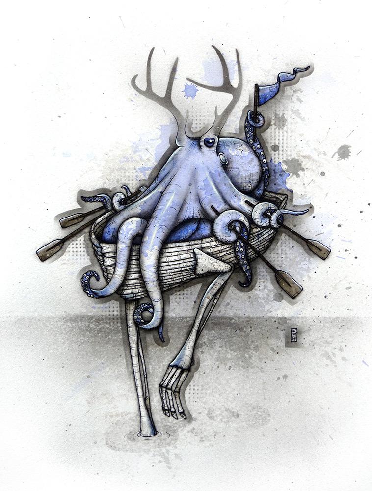 Octoboat